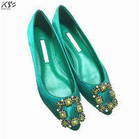 Silks Flats Shoes Women Genunine Lambskin Shoes Luxury Designer Really Leather And Silk Summer Shoes Lady