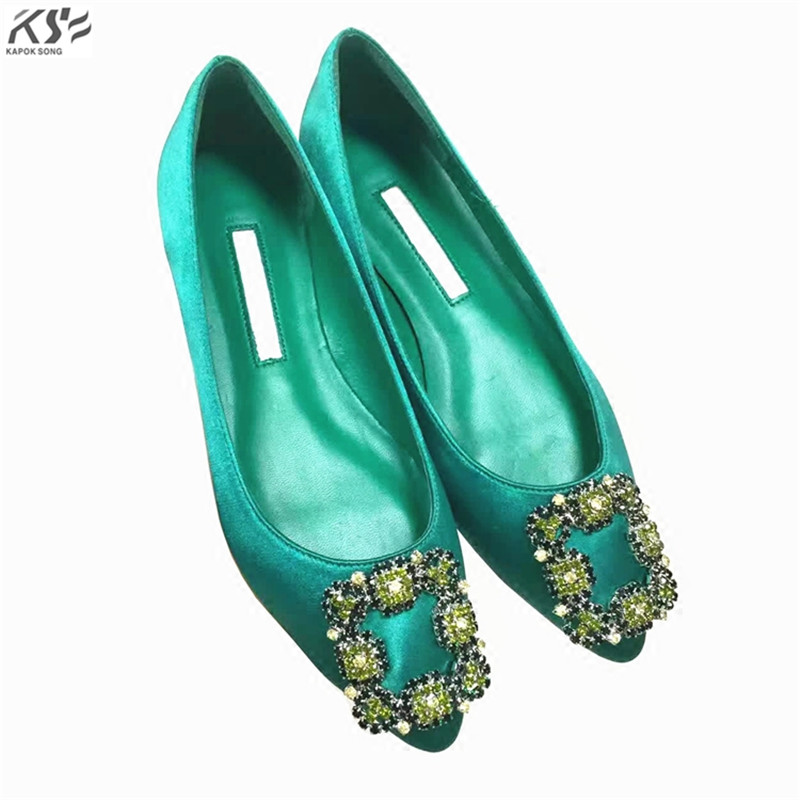 silks flats shoes women genunine lambskin shoes luxury designer really leather and silk summer shoes lady square diamond flats silks flats shoes women genunine lambskin shoes luxury designer really leather and silk summer shoes lady square diamond flats
