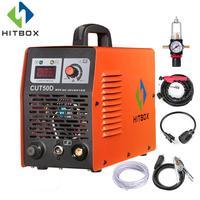 HITBOX Plasma Cutter Cutting Machine CUT50 Double Voltage Gas Plasma Welder 110V 220V Portable Size Cutting Tools