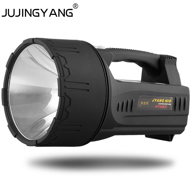 Jujingyang external 12v hid xenon searchlight light remote hunting hunting light 55w xenon flashlight 100w hid portable spotlight workwithnaturefo