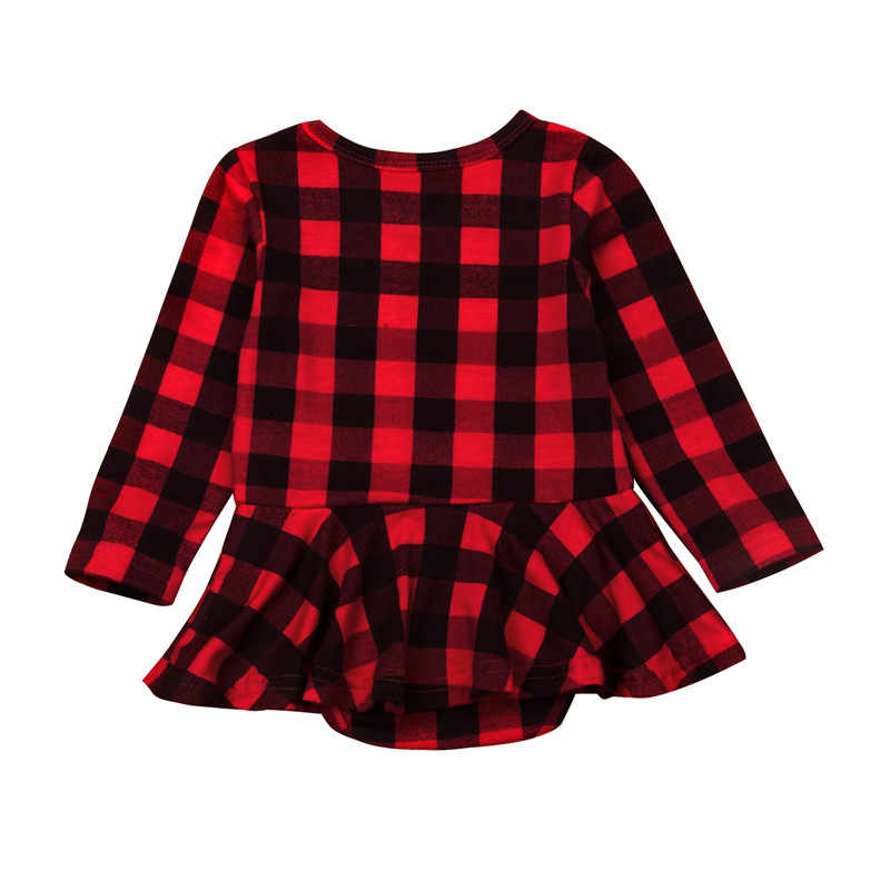 4d9a0c0b5 Detail Feedback Questions about 0 24M Lovely Baby Girl Plaid Romper ...
