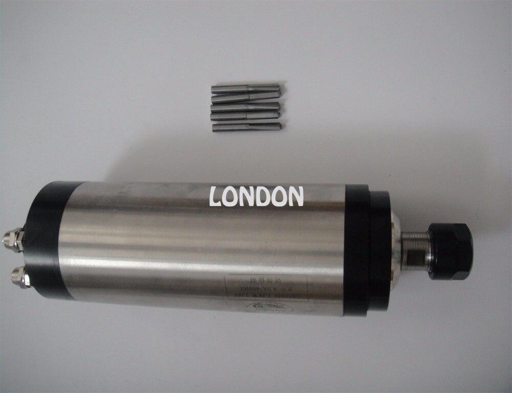 ER20 2.2KW refroidissement par eau CNC broche de fraisage 24000 tr/min, 2,2 KW broche + CNC bits de gravure