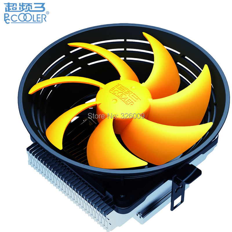 CPU Cooler fan Quiet 12cm fan cooling for Intel LGA1151 775 115x for AMD AM2+ AM3+ FM1 FM2 Radiator PcCooler Q120 qqv6 aluminum alloy 11 blade cooling fan for graphics card silver 12cm