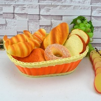 Simulated bread Cake model Food props Cupboard decorate Bakery sample Kindergarten play house toys Holiday gift