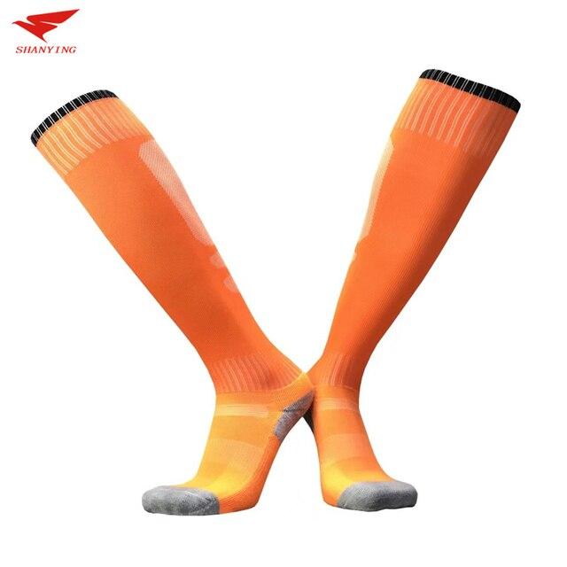 2017 sport socks football soccer socks Cycling running men kids boys long towel socks basketball sox medias de futbol non-slip