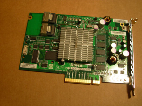 3GBPS SAS & SATA PCI-e RAID Card  Original 95%New Well Tested Working One Year Warranty 375 3536 sas raid with battery array card pci e sas card 100% test good quality