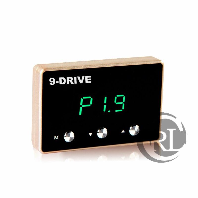 SpeedBooster Pedalcommander Car throttle controller quick drive car for Toyota New VIOS RAV4 Sequoia YARiS-L Ralink 2015 reiz