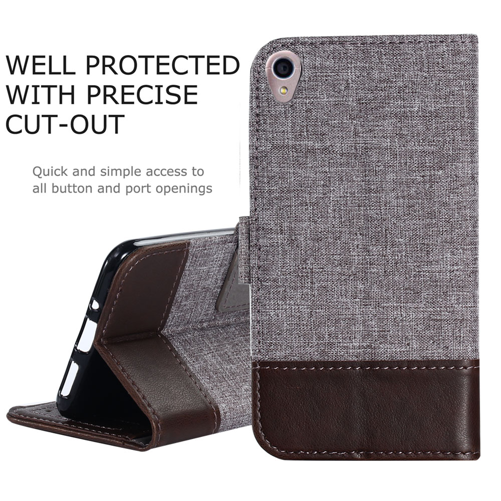 Mooshion Slim Flip Case For Asus Zenfone Live case Leather Protective Case For ASUS Zenfone Live ZB501KL Cover wallet Shell