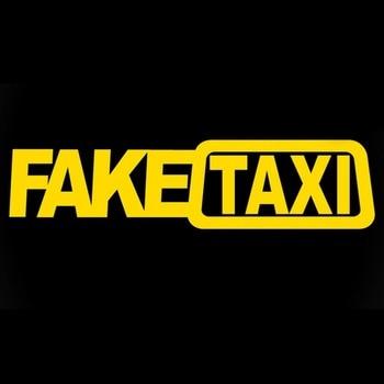 FALSO TAXI falso taxi drift segno divertente adesivi per auto commercio estero di vendita calda Europa e in America FALSO TAXI adesivi per auto