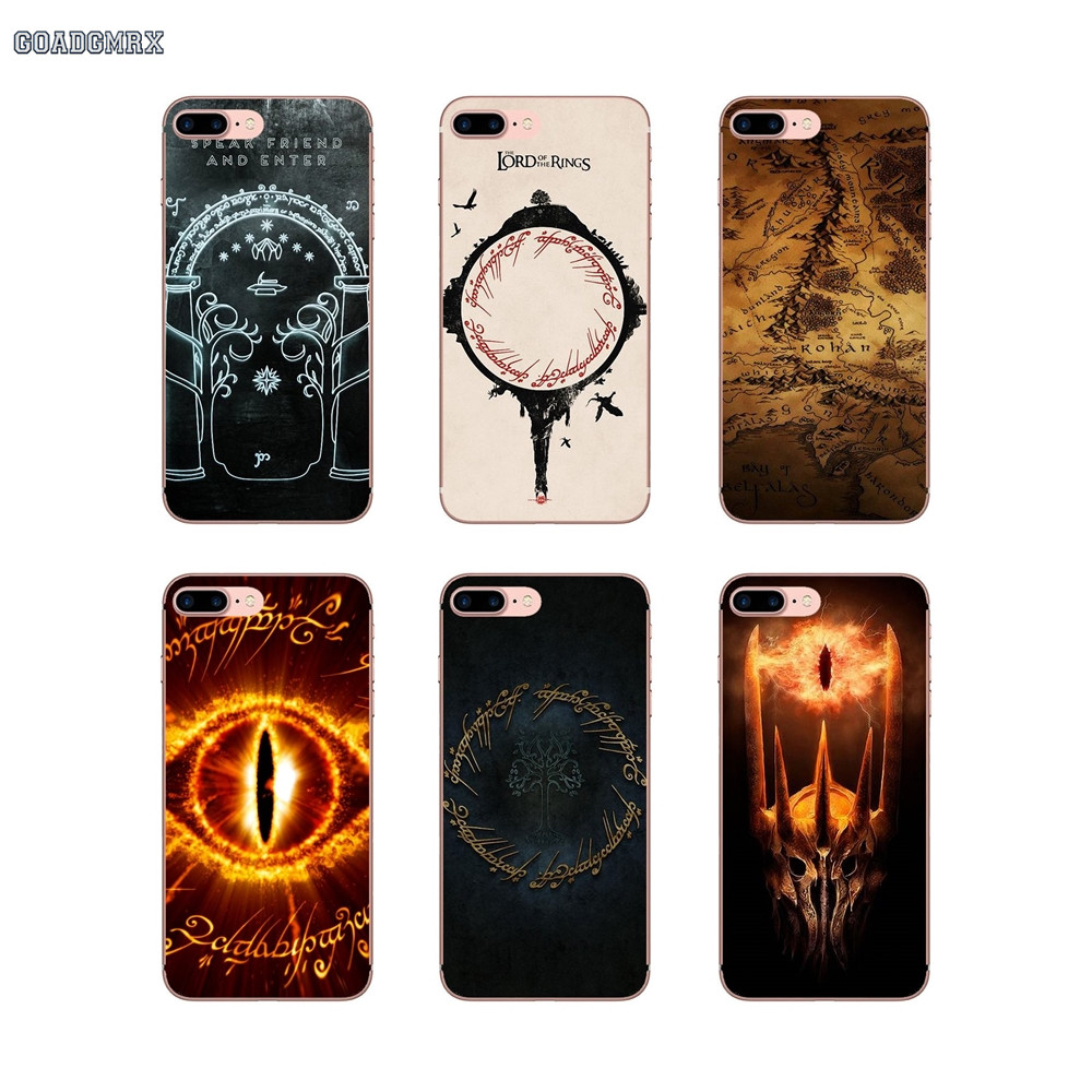 Half-wrapped Case For Iphone X Xr Xs Max 4 4s 5 5s 5c Se 6 6s 7 8 Plus Accessories Phone Cases Covers The Hobbit Movie Novelty New