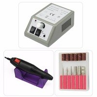 Free shipping Professional Electric Nail Drill Manicure Machine with Drills 6 Bits Pedicure Manicure Nail Art Equipment