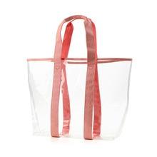 цена на Large Casual Tote Handbag Large Capacity Shoulder Bag Waterproof PVC Transparent Shopping Bag Bolsos Mujer De Marca Famosa 2018