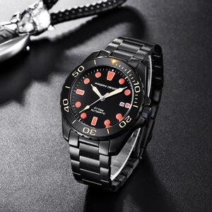 Image 3 - Pagani montre bracelet mécanique et automatique pour hommes, montre bracelet de Sport, mode militaire, étanche, en acier
