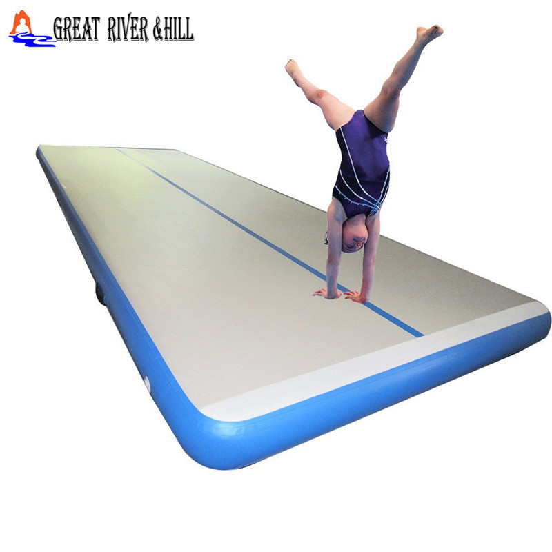 10mx2mx20cm inflatable airtrack font b sports b font equipment wrestling mat gymnastic floor