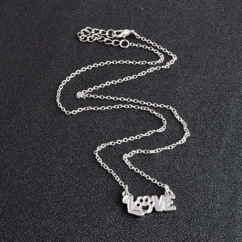 I Love Paw Necklace 9
