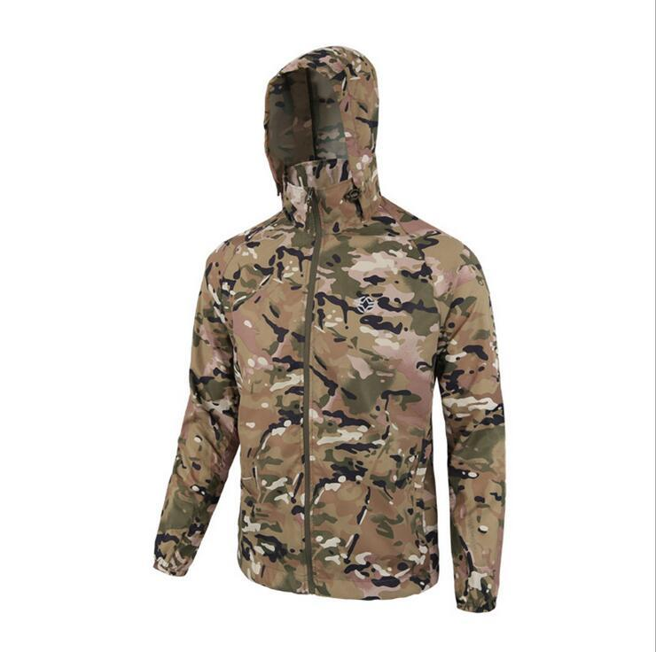 Skin clothing men summer sun clothes outdoor tactical skin clothing breathable ultra-thin jacket fast drying camouflage outdoor men s spring summer quick dry breathable ultra thin tactical clothes male windbreaker skin coat rash guards jacket