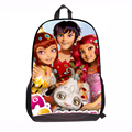 fashion 2015 girls' mia and me school bag children mochila back pack child mia and me  school bag for school for teenager kids