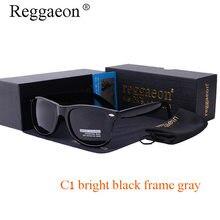 2017 Hot Reggaeon brand polarizing fashion men sunglasses square HD lens eye Protector Fashion casual Ladies Sunglasses UV400