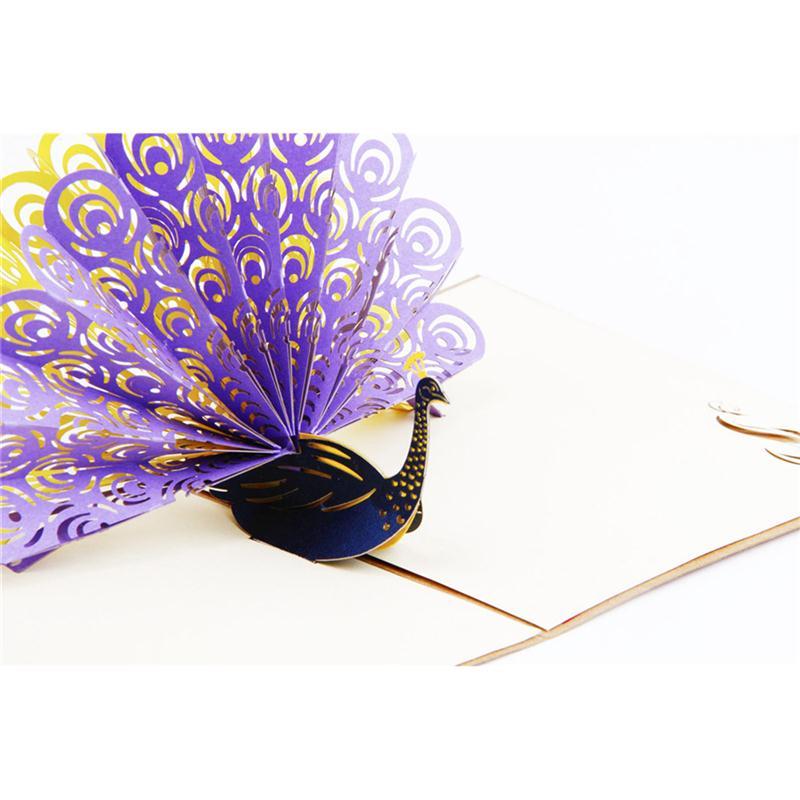 aliexpress  buy 3d pop up greeting card handmade gift