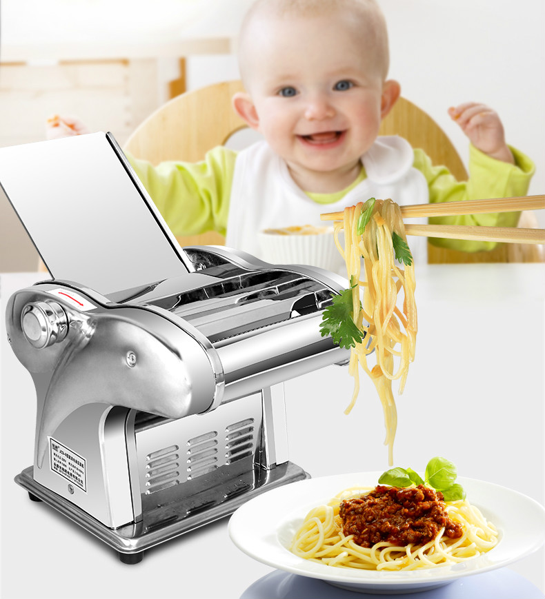 Electric Noodle Press Machine Electric Noodle Making Machine,pasta Maker,noodle Cutting Machine,dough Roller For Home Use