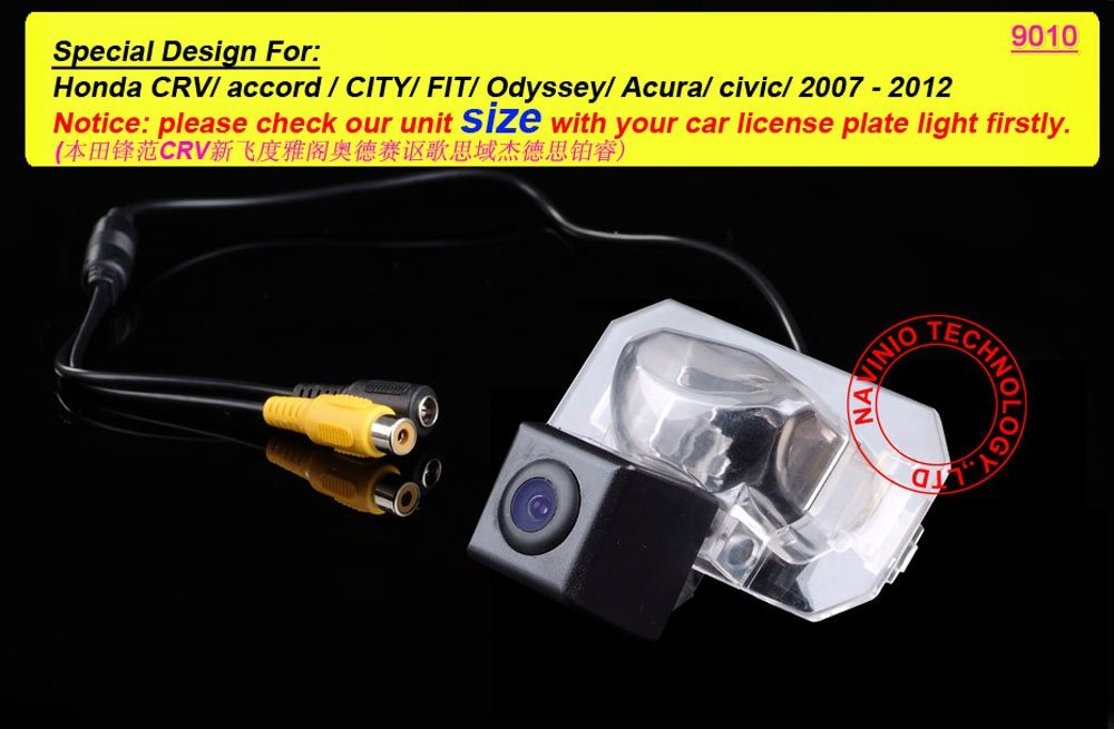 Вид сзади автомобиля Камера для Honda CRV Accord Город Fit Одиссея Acura Civic обратная Парковка резервную копию автомобиля Камера водонепроницаемый экр...