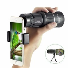 Big discount 16×52 Dual Focus Monocular Telescope Lens Mobile Phone Optical Zoom Monoculars Optic lens Camera For iPhone XIAOMI smartphone