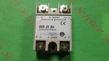 1 pçs/lote SSR-25 DA (25A) realmente 3-32 V DC PARA 24-380 V boa qualidade