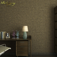Non Woven Fabric Solid Color Wall Paper Home Decor Background Flooring Wallpaper Roll Wallcovering 3D Wallpaper