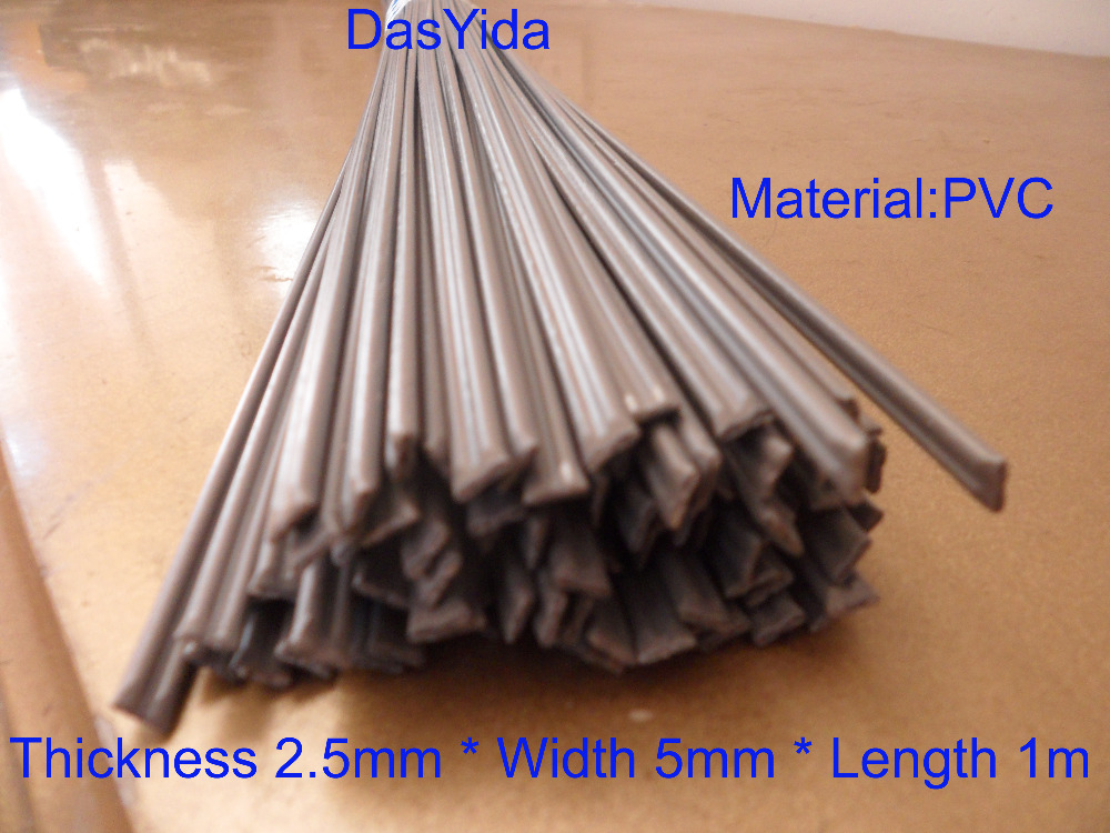 Free shipping 30 PCS grey PVC Plastic welding rods/PVC welder rod for plastic welder gun/hot air gun/welding tool 1pc=1meter