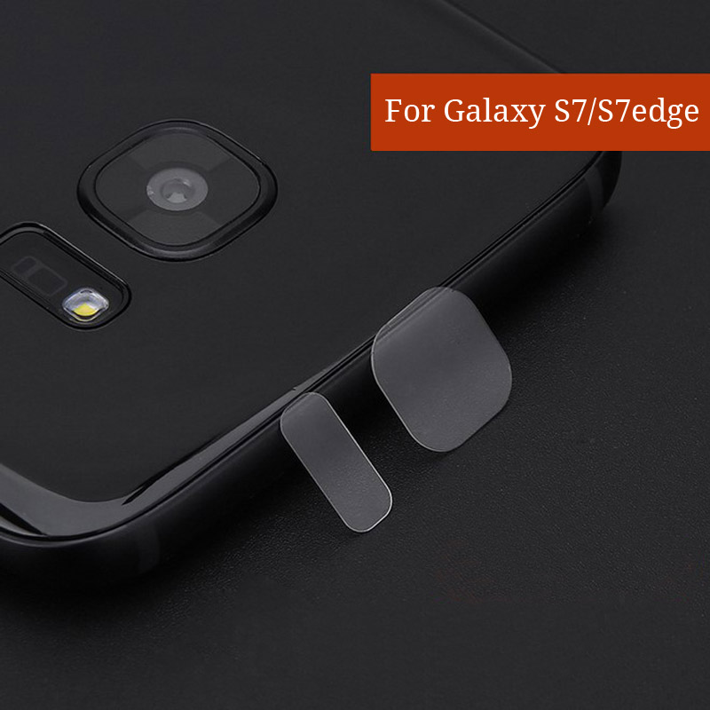 For Samsung Galaxy S7 / S6 S7edge / S8 S8+ Flexible Tempered Glass Camera Lens and Flash Light Protector Film For Samsung Note 5