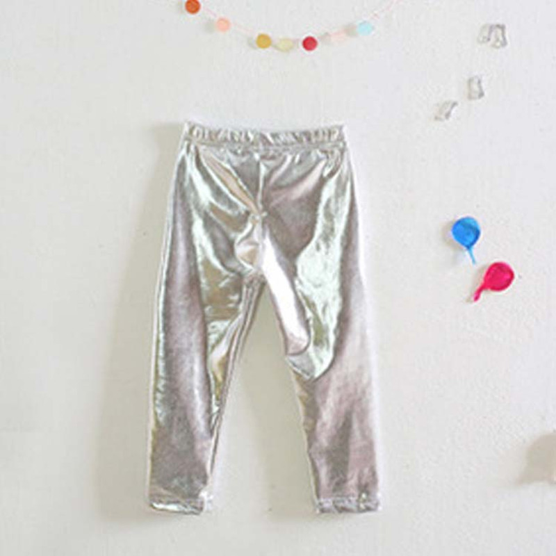 Heiße Goldmädchen-Gamaschen-Großhandelskinder, welche die - Kinderkleidung - Foto 6