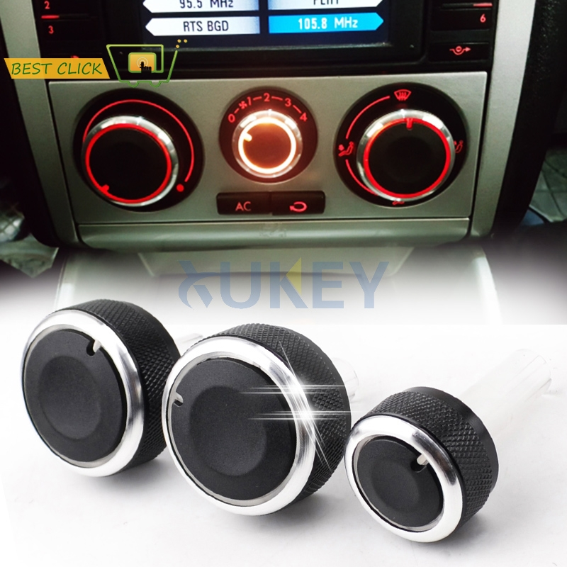 For SEAT Leon MK1 Toledo MK2 1M Heater Climate Control Panel Switch Knob Knobs Buttons Dials Ring Accessories