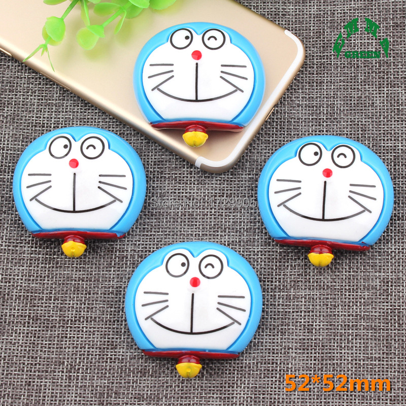 Pokonyan Doraemon Resin Decoration Crafts Beads 10 pcs Flatback Cabochon Kawaii Embellishments For Scrapbooking DIY Accessories in Charms from Jewelry Accessories