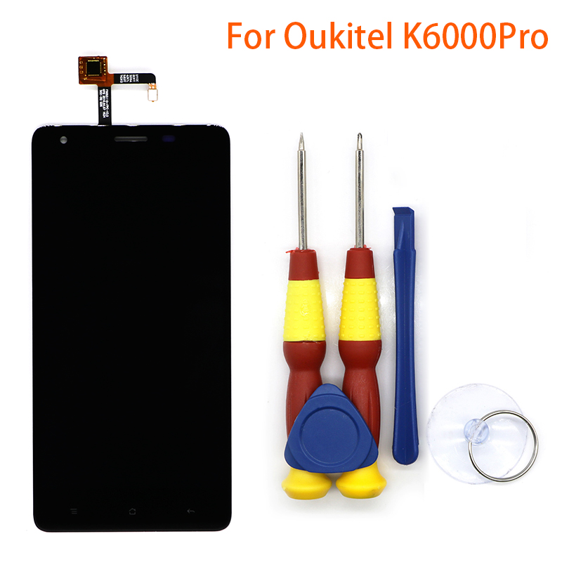 New original Touch Screen Touch Panel For Oukitel K6000 pro Replacement Parts + Disassemble Tool+3M adhesiveNew original Touch Screen Touch Panel For Oukitel K6000 pro Replacement Parts + Disassemble Tool+3M adhesive