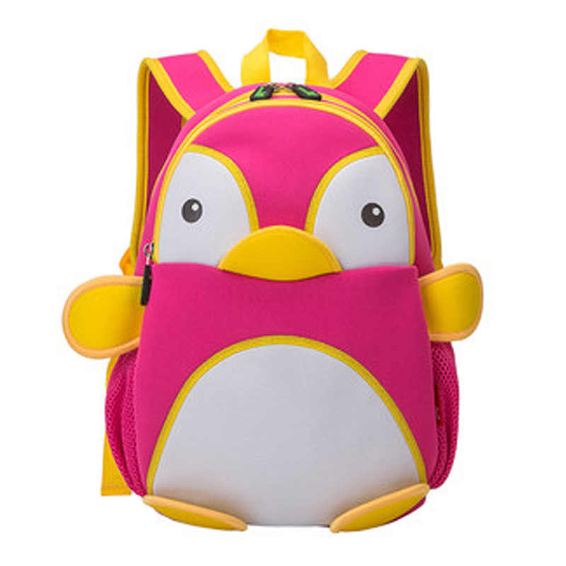 39abfd84ea1f ... NOHOO 3D Penguin Waterproof Bags For Girls Boys Animals Backpack  Toddler Children Cartoon School Bag Kid
