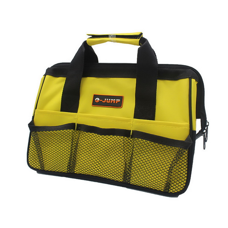 High Quality 1pcs Multifunction Nylon Canvas Waterproof Tool Bags Portable Double Oxford Cloth Storage Bag Close Top Wide Mouth