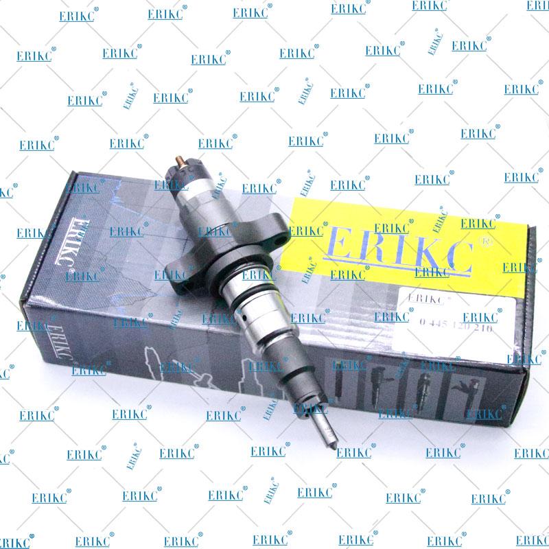 ERIKC Man Tg Fuel Injector 0 445 120 210 Common Rail Injectors Adaptors 044 120 210 Original Diesel Injector Nozzle 0445120210