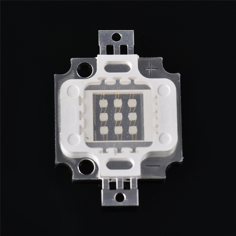 UV 395-400NM 10W Lamp Beads Lamp Purple COB LED Bead Light DIY Ultraviolet LED Chip Lamp
