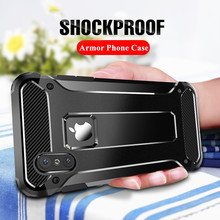 Luxury Armor Phone Case for iPhone 6 6s 7 8 Plus X XS Max XR Case Heavy Duty Shockproof Hybrid Hard PC+TPU Rubber Cover Coque цена и фото