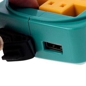 Image 3 - Conversor de adaptador de carregamento de energia usb para makita adp05 bl1815 bl1830 bl1840 bl1850 1415 14.4 18v li ion bateria preto