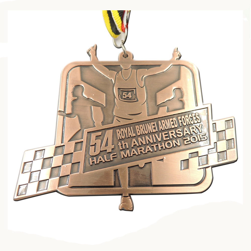 Custom 3D Logo Gold Gymnastics Medal Environmental Theme Award Medal in Non currency Coins from Home Garden