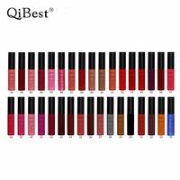 New 34Pcs Lot Matte Liquid Lipstick Long Lasting Lip Pigment Cosmetics Nude Makeup Lipgloss Liquid Matte
