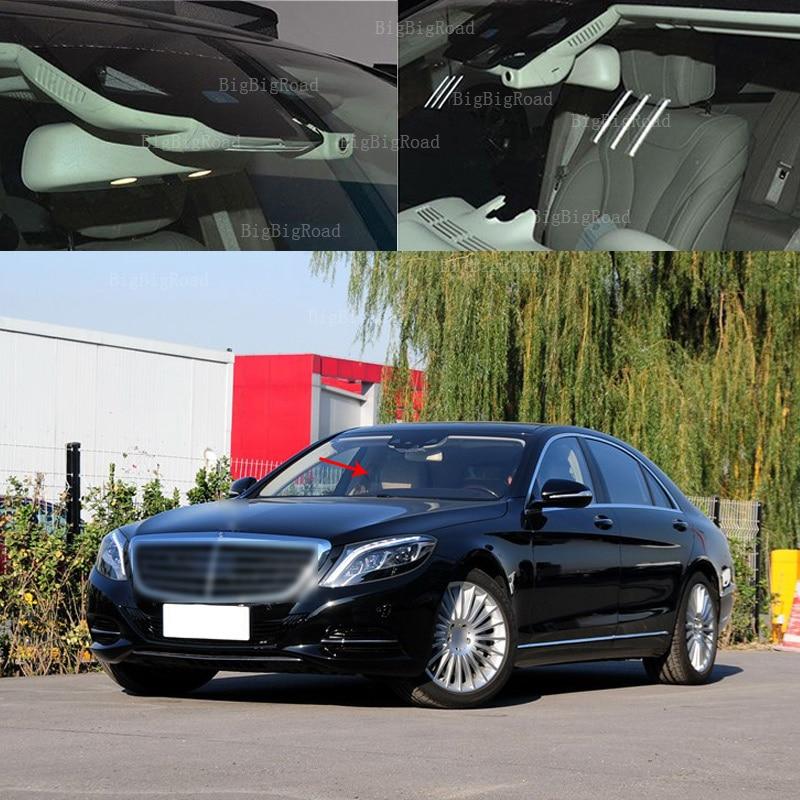 цена на BigBigRoad For mercedes benz s500l 2014 2016 / s500 2015 Car wifi DVR hidden type Driving Video Recorder Car black box Dash Cam