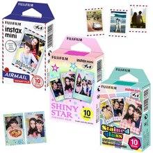 Для Fuji Fujifilm Instax Mini 8 70 90 Нео фильм камера Мгновенной Печати, 30 листов бумаги авиапочтой пятнистости Стекло, блестящие звезды Frame