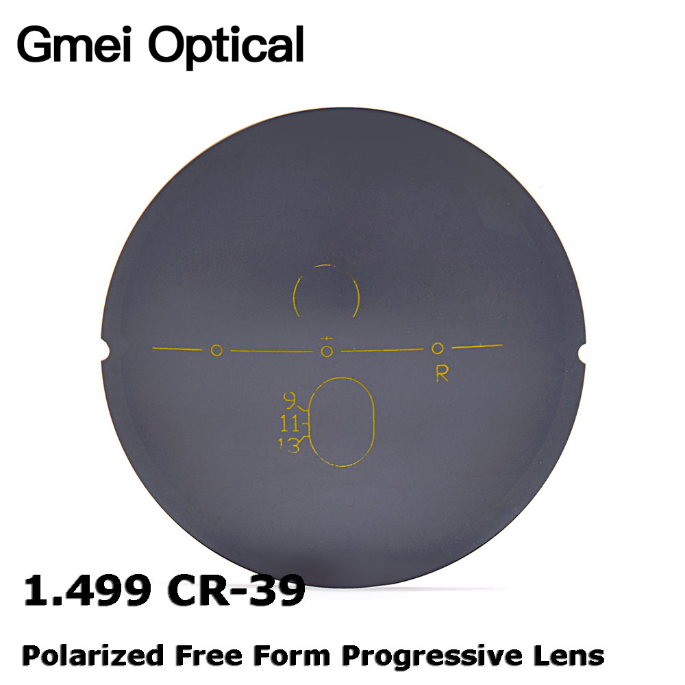 Herren-brillen Gut Gmei Optische 1,499 Cr-39 Polarisierte Digitale Kostenloser Form Progressive Sonnenbrille Objektiv Rezept Polarisierte Optische Linsen 4 Farben Gute QualitäT Accessoires