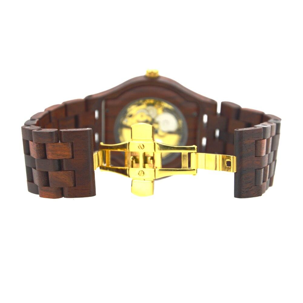 BEWELL Automatyczne zegarki mechaniczne Najlepsze marki Luksusowe - Męskie zegarki - Zdjęcie 6
