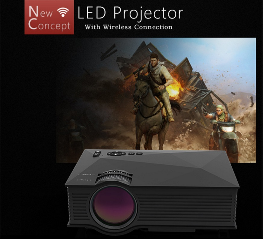 Led Projector Proyector 4 K 3d Hd Wifi Smart 1080 P Usb Hdmi Android Home Office