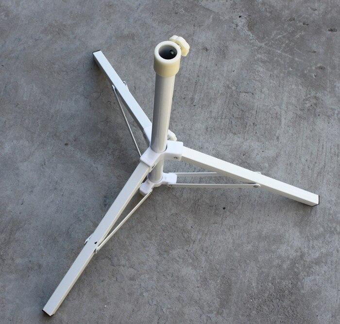 Umbrella Base Iron Folding Portable