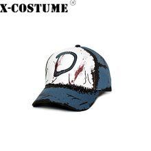 X-COSTUME the walking dead clementine boné de beisebol outdoorcotton chapéu cosplay traje prop adultos unisex