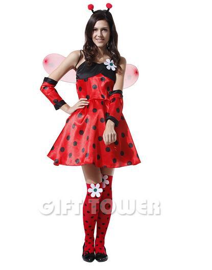 Cheap ladybird fancy dress costume
